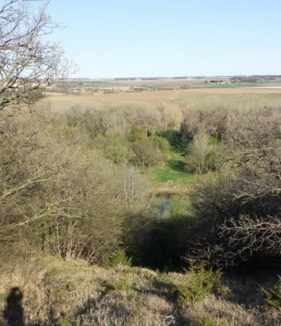 Where the pipeline would cross the Big Sioux River from South Dakota