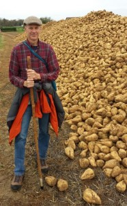 Ed meets a bumper crop of sugar beets.