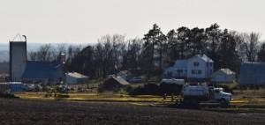Site of TransCanada Keystone pipeline spill near Freeman, S.D. (Photo courtesy Cindy Myers)
